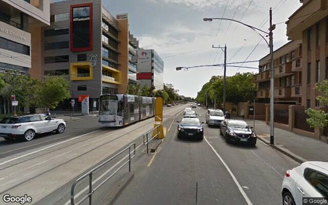 parking on Commercial Road in South Yarra Victoria