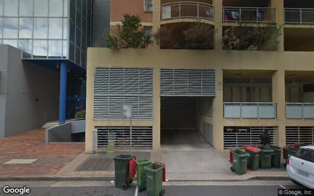parking on Cowper Street in Parramatta NSW