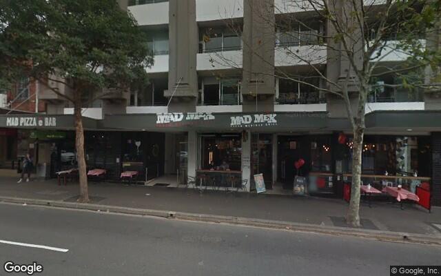 parking on Crown St in Darlinghurst NSW