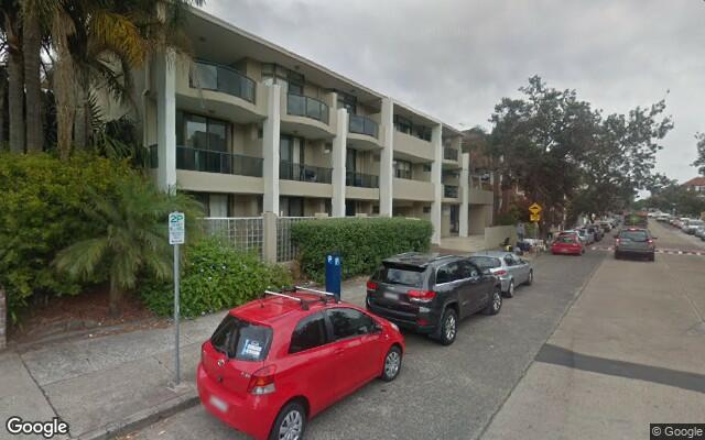 parking on Curlewis St in Bondi Beach NSW 2026
