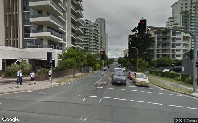 parking on Cypress Avenue in Surfers Paradise