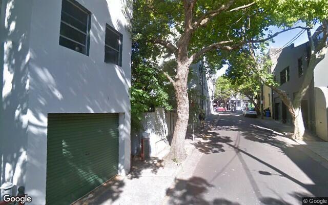 parking on Davies Street in Surry Hills