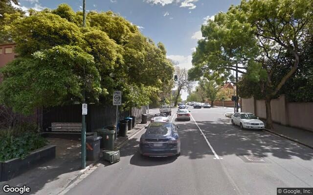parking on Domain Road in South Yarra VIC