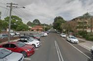 parking on Doncaster Avenue in Kensington NSW