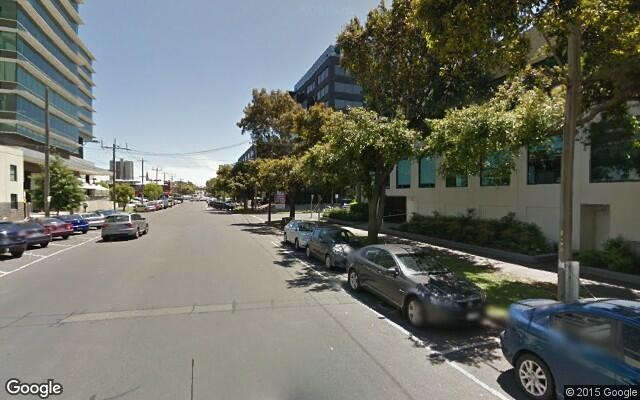parking on Dorcas Street in South Melbourne