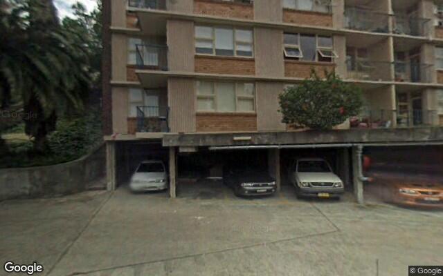 parking on Doris St in North Sydney