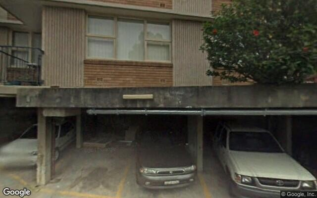 parking on Doris Street in North Sydney