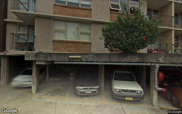 parking on Doris Street in North Sydney NSW