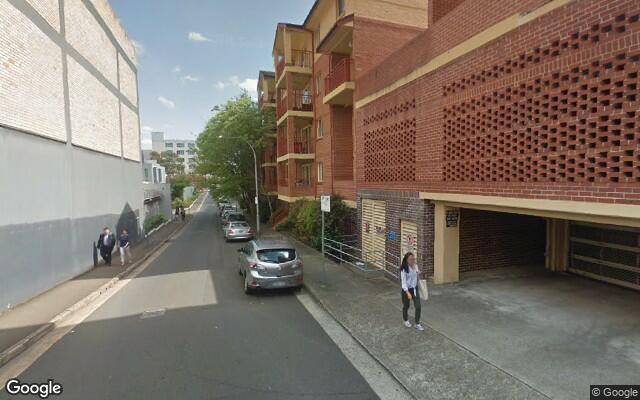 parking on Dunblane Street in Camperdown NSW