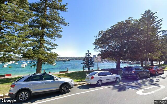 Secure underground car parking space 1 min walk to Manly Wharf and beach, 3 min walk to Manly Corso