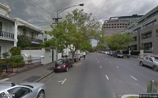 parking on East Melbourne in Victoria