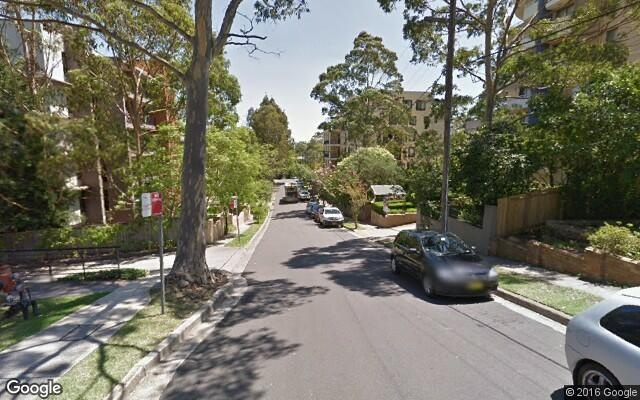 parking on Eddy Road in Chatswood