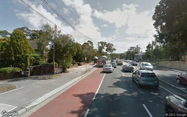 parking on Epping Road in Lane Cove