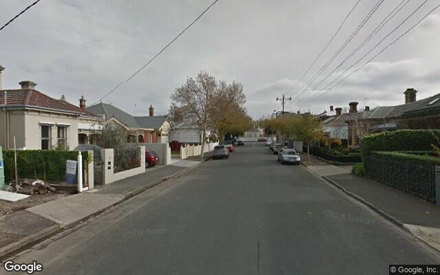 parking on Fawkner Street in South Yarra