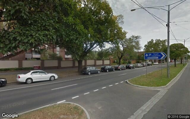 parking on Flemington Road in North Melbourne