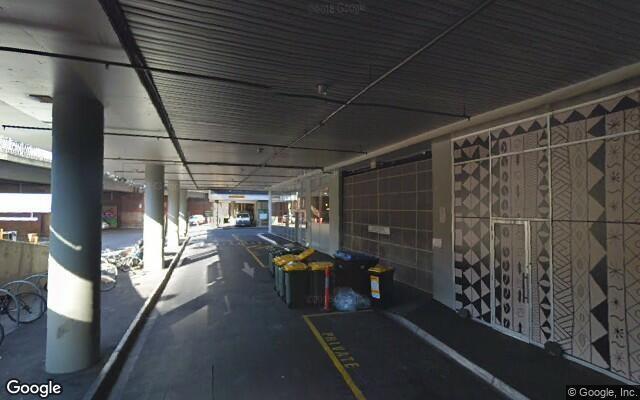 parking on Flinders Street in Melbourne VIC