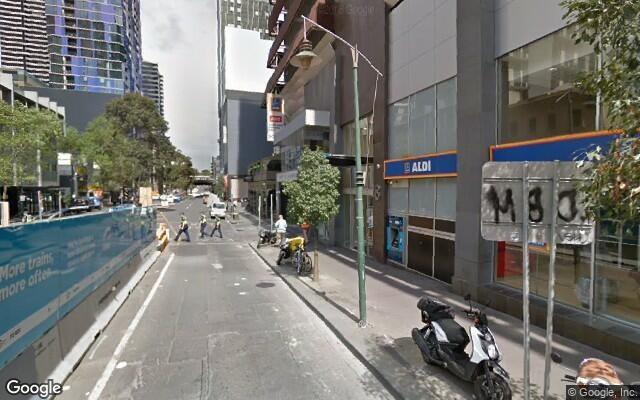 parking on Franklin Street in Melbourne VIC