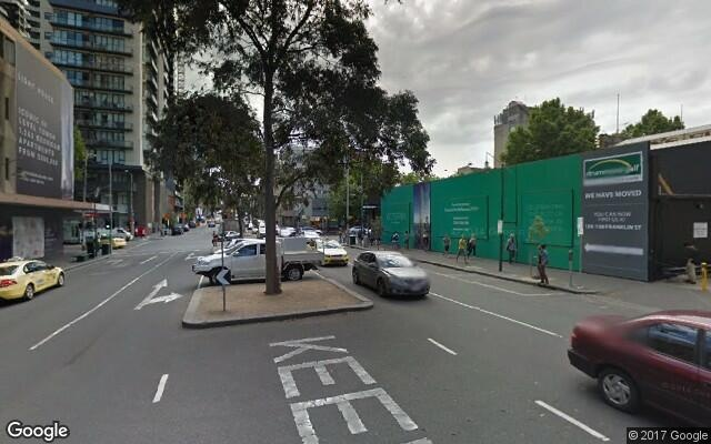 parking on Franklin Street in Melbourne