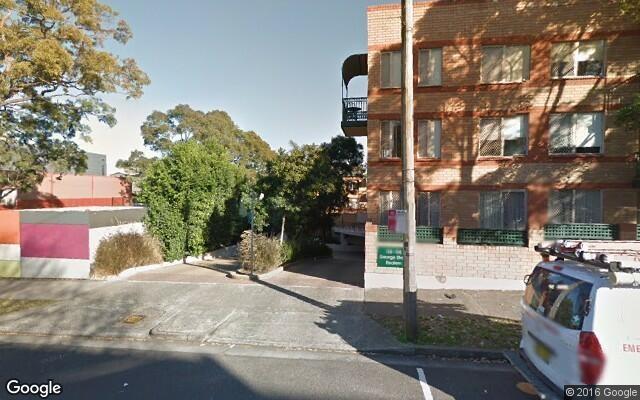parking on George St in Redfern