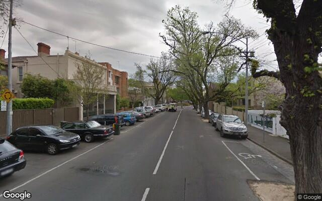 parking on George Street in East Melbourne VIC