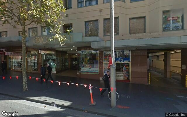 parking on George Street in Haymarket NSW