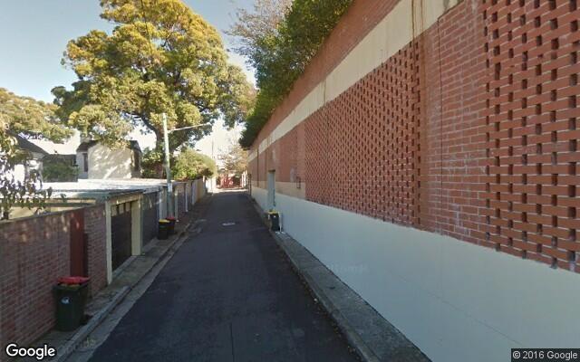parking on Georgina Street in Newtown