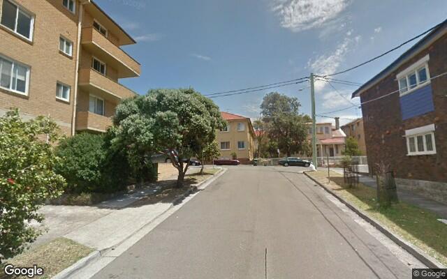 parking on Glen Street in Bondi NSW