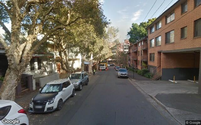 parking on Goodlet Street in Surry Hills NSW