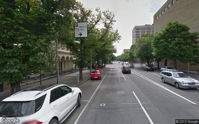 parking on Grattan Street in Carlton