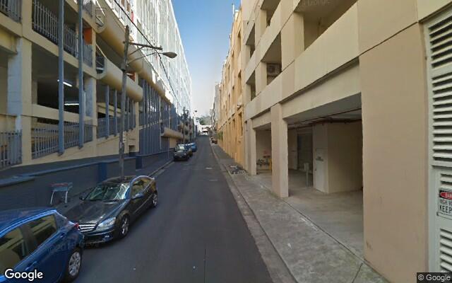 parking on Greek St in Glebe