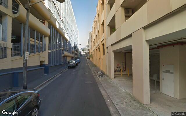 parking on Greek Street in Glebe