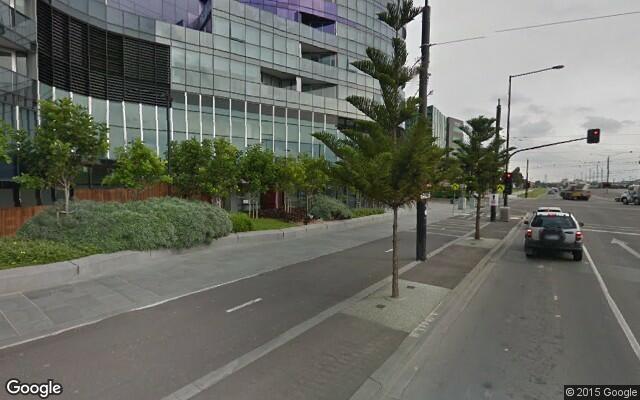 parking on Harbour Esplanade in Docklands