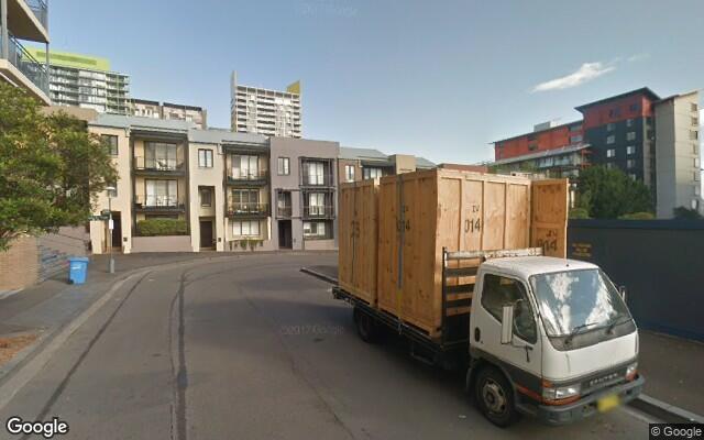 parking on Harvey Street in Pyrmont