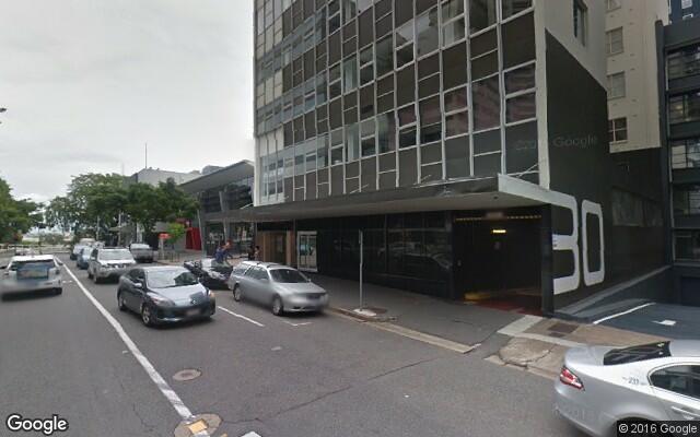 parking on Herschel Street in Brisbane
