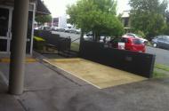 parking on Heussler Terrace in Milton