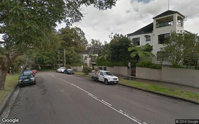 parking on Hume Street in Wollstonecraft