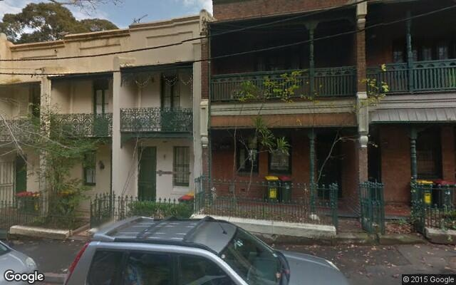parking on Hutchinson Street in Surry Hills