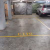 Indoor lot parking on Hutchinson Walk in Zetland NSW
