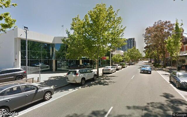 parking on James St in Northbridge WA