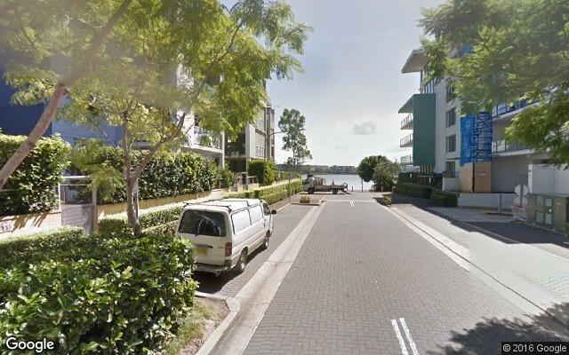 parking on Jean Wailes Avenue in Rhodes