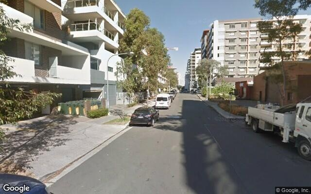 parking on John St in Mascot NSW