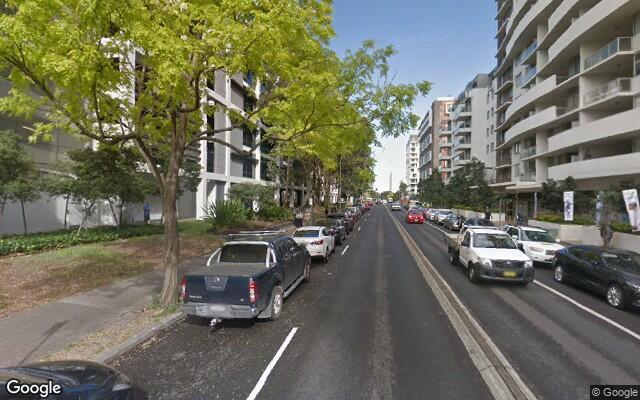 parking on John Street in Mascot