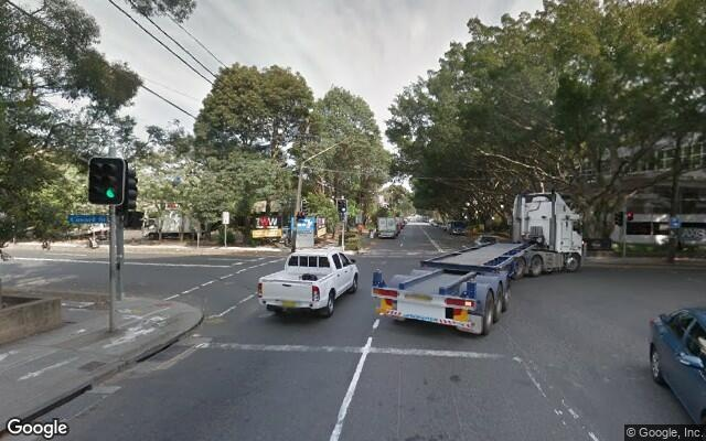 parking on Kent Road in Mascot New South Wales