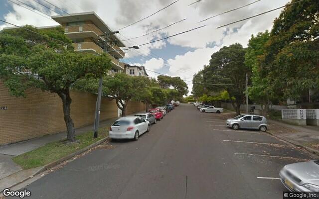 parking on Kidman Street in Coogee