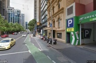 parking on La Trobe Street in Melbourne VIC