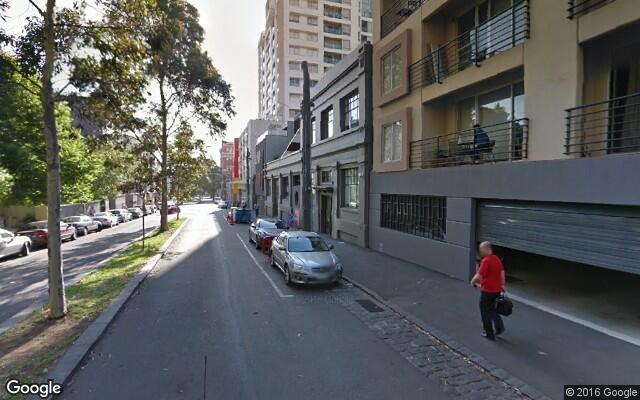 parking on La Trobe Street in West Melbourne