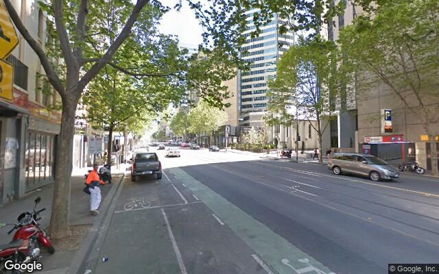 parking on La Trobe Street in West Melbourne