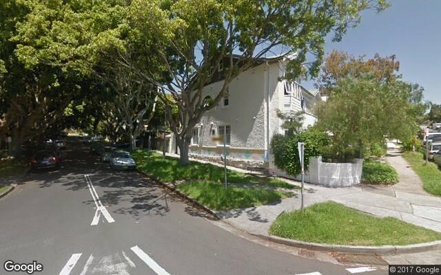 parking on Lamrock Avenue in Bondi Beach