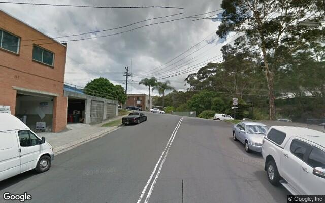 parking on Leighton Pl in Hornsby NSW 2077