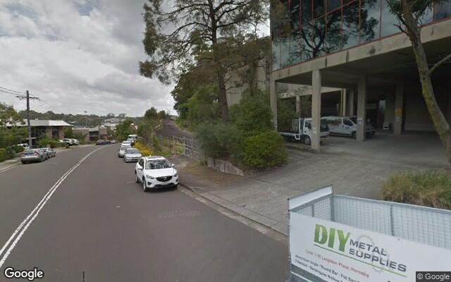 parking on Leighton Place in Hornsby NSW